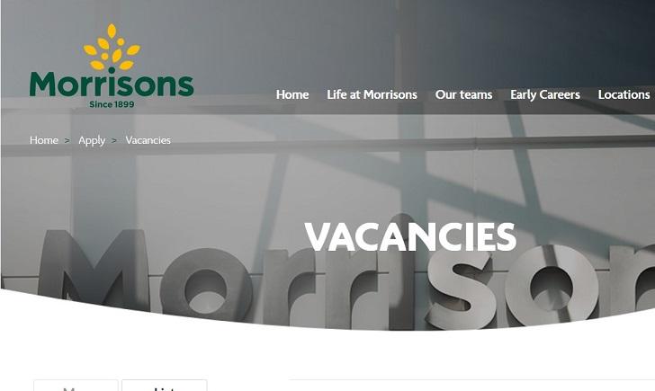 Morrisons Jobs: Application Form Online & Careers