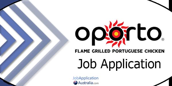 Oporto Job Application Form Online & Careers