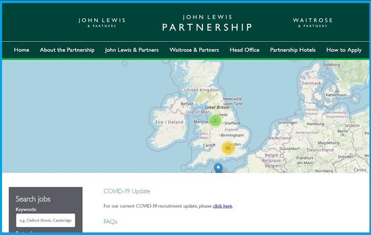Waitrose & Partners Job Application Form & Careers