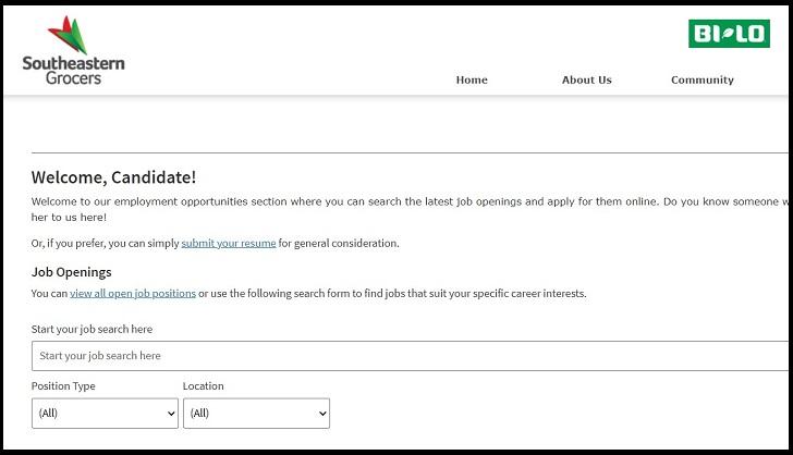 BI-LO Job Application Form Online & Careers