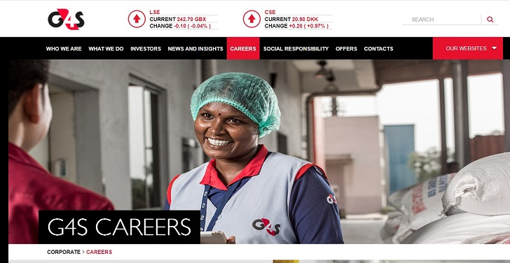 G4S Jobs: Application Form Online & Careers