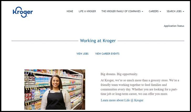 Kroger Jobs: Application Form Online & Careers