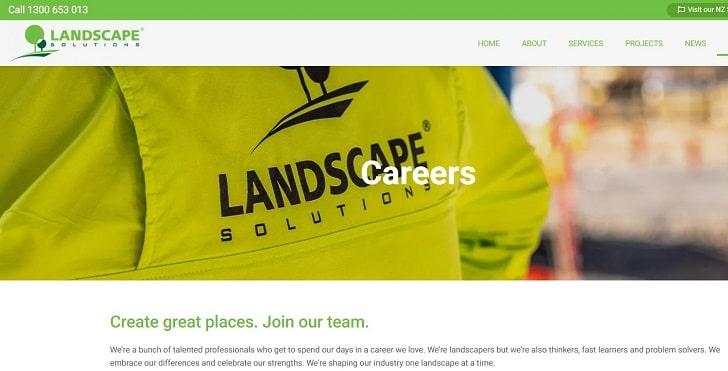 Landscape Solutions Jobs: Application Form Online & Careers