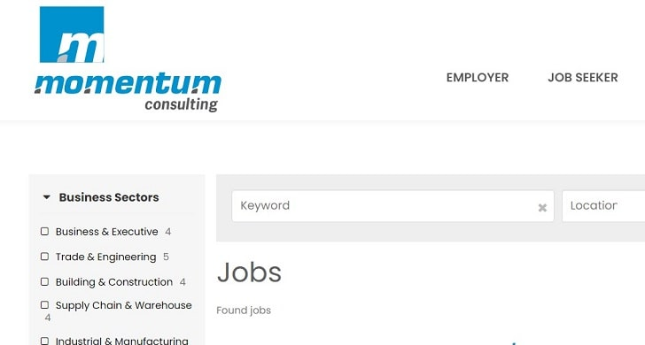 Momentum Consulting Jobs: Application Form Online & Careers