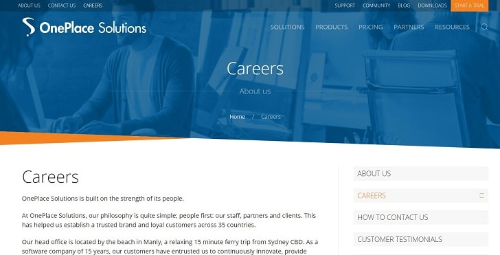 OnePlace Solutions Jobs: Application Form Online & Careers