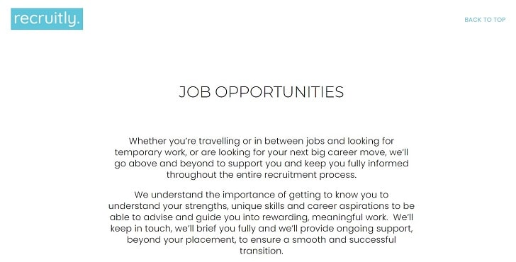 Recruitly Jobs: Application Form Online & Careers