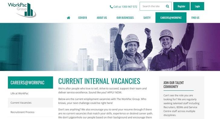 Workpac Group Jobs: Application Form Online & Careers