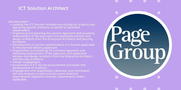 PageGroup ICT Solution Architect