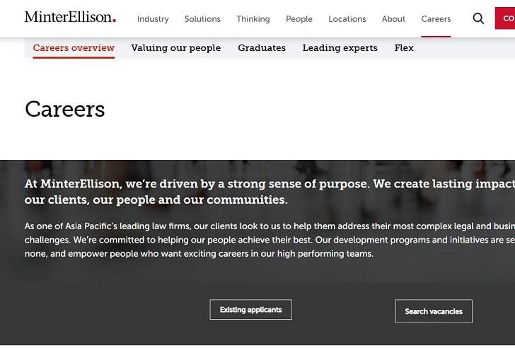 MinterEllison Jobs: Application Form Online & Careers