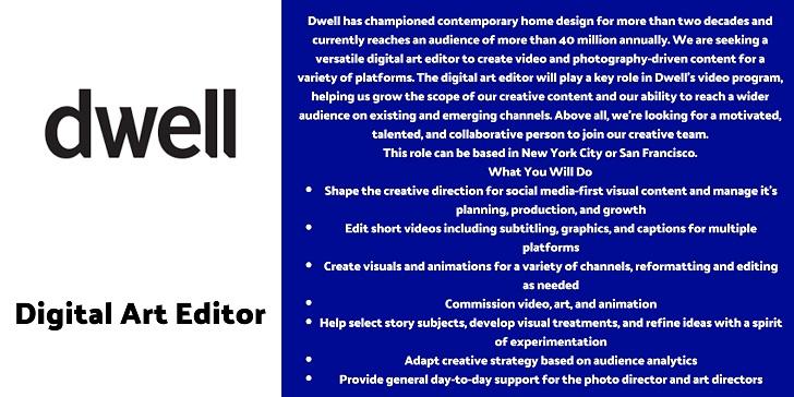 dwell Digital Art Editor
