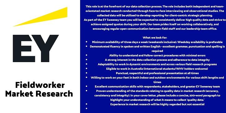 EY Fieldworker Market Research