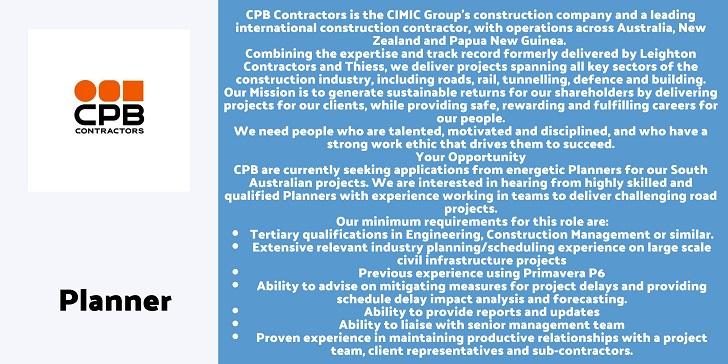CPB Contractors Planner