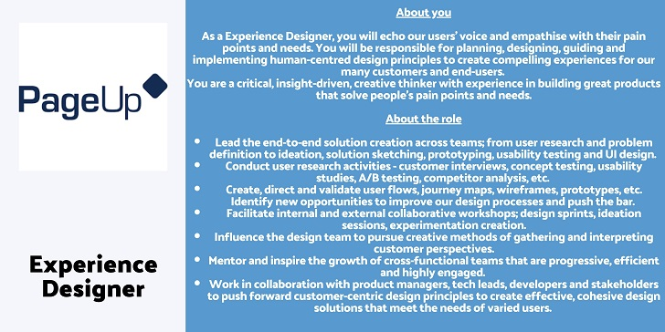 Odecee Experience Designer