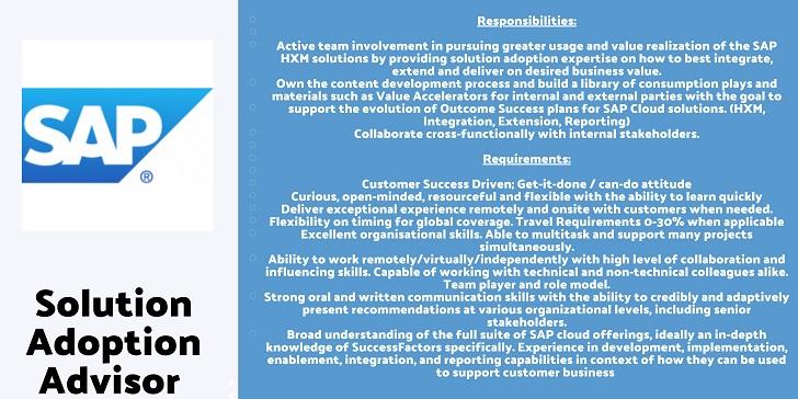 SAP Solution Adoption Advisor