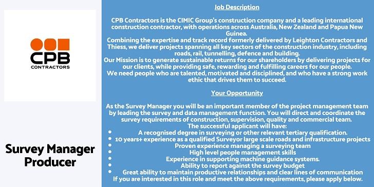CPB Contractors Survey Manager
